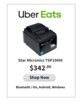 STAR MICRONICS TSP100IIIB