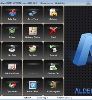 Aldelo Restaurant POS PRO FREE WITH MERCHANT SERVICE