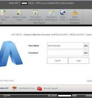 Aldelo EDC Credidt Card Software
